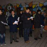 Gedenkfeier zu 72. Jahrestag der Auschwitz-Befreiung und Solidaritätskundgebung gegen Rechtsextremismus 16