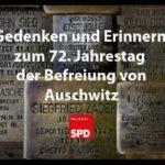 Gedenkfeier zu 72. Jahrestag der Auschwitz-Befreiung und Solidaritätskundgebung gegen Rechtsextremismus 3