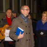 Gedenkfeier zu 72. Jahrestag der Auschwitz-Befreiung und Solidaritätskundgebung gegen Rechtsextremismus 5