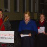 Gedenkfeier zu 72. Jahrestag der Auschwitz-Befreiung und Solidaritätskundgebung gegen Rechtsextremismus 15