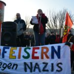 Gedenkfeier zu 72. Jahrestag der Auschwitz-Befreiung und Solidaritätskundgebung gegen Rechtsextremismus 9
