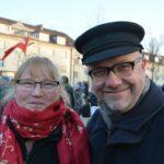 Gedenkfeier zu 72. Jahrestag der Auschwitz-Befreiung und Solidaritätskundgebung gegen Rechtsextremismus 13