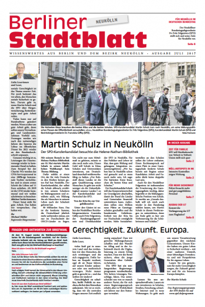 Berliner Stadtblatt #Neukölln - Ausgabe Juli 1
