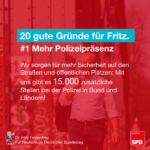 Gründe für Fritz 1
