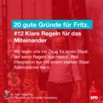 Gründe für Fritz 12