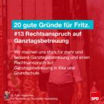 Gründe für Fritz 13