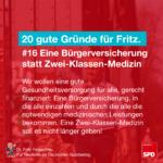Gründe für Fritz 16