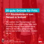 Gründe für Fritz 17