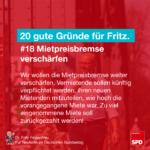 Gründe für Fritz 18