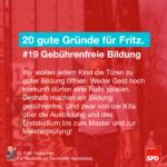 Gründe für Fritz 19