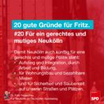 Gründe für Fritz 20