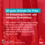 Gründe für Fritz 3