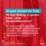 Gründe für Fritz 6