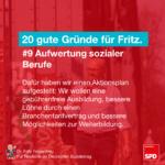 Gründe für Fritz 9