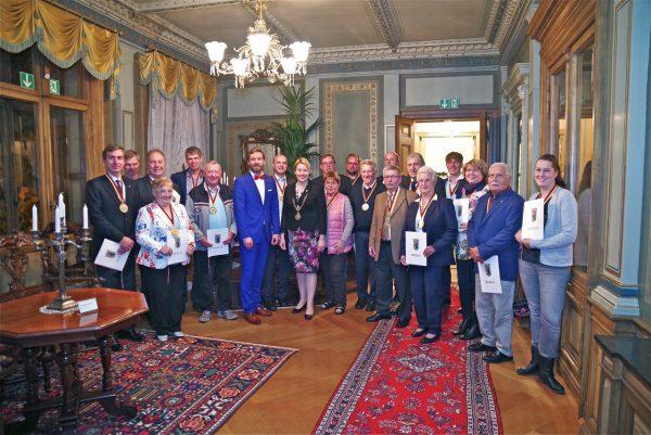 Neukölln ehrte verdienstvolle Sportfunktionäre in einem Festakt auf Schloss Britz 1