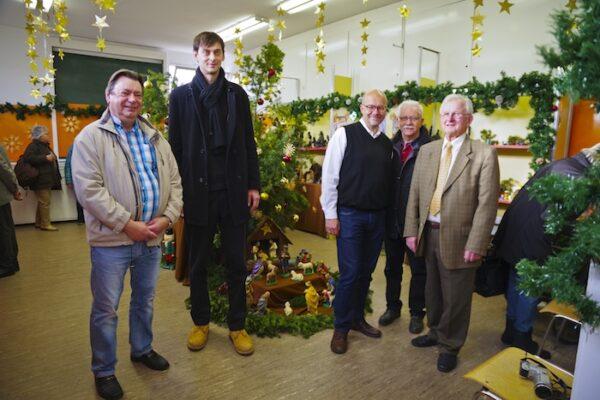 Weihnachtsausstellung beim Heimatverein besucht 1