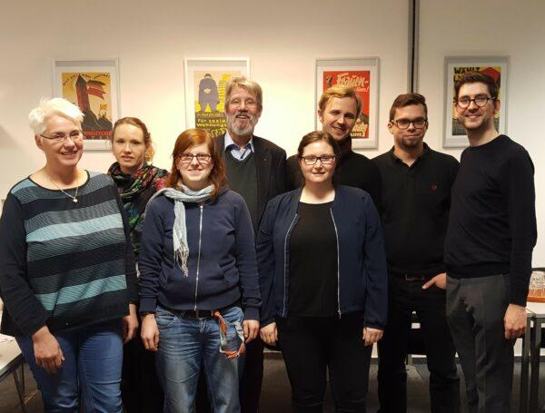 Jahreshauptversammlung 2018 der SPD Hermannstraße 1
