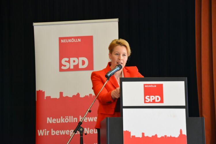 SPD Neukölln wählt neuen Vorstand - Severin Fischer folgt Franziska Giffey 2