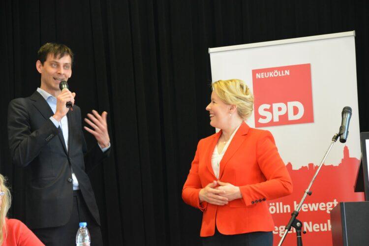 SPD Neukölln wählt neuen Vorstand - Severin Fischer folgt Franziska Giffey 3