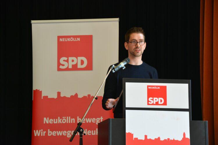 SPD Neukölln wählt neuen Vorstand - Severin Fischer folgt Franziska Giffey 10
