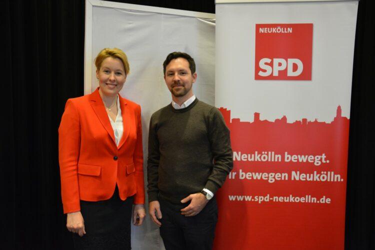 SPD Neukölln wählt neuen Vorstand - Severin Fischer folgt Franziska Giffey 11