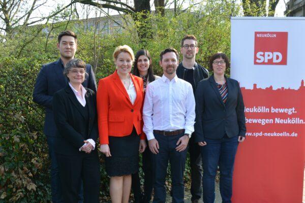 SPD Neukölln wählt neuen Vorstand - Severin Fischer folgt Franziska Giffey 1
