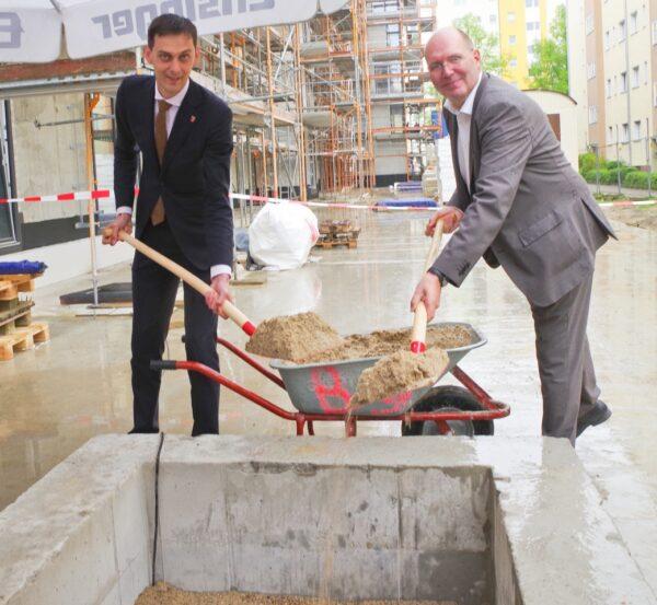 Richtfest für 93 Neubauwohnungen in Neukölln 3