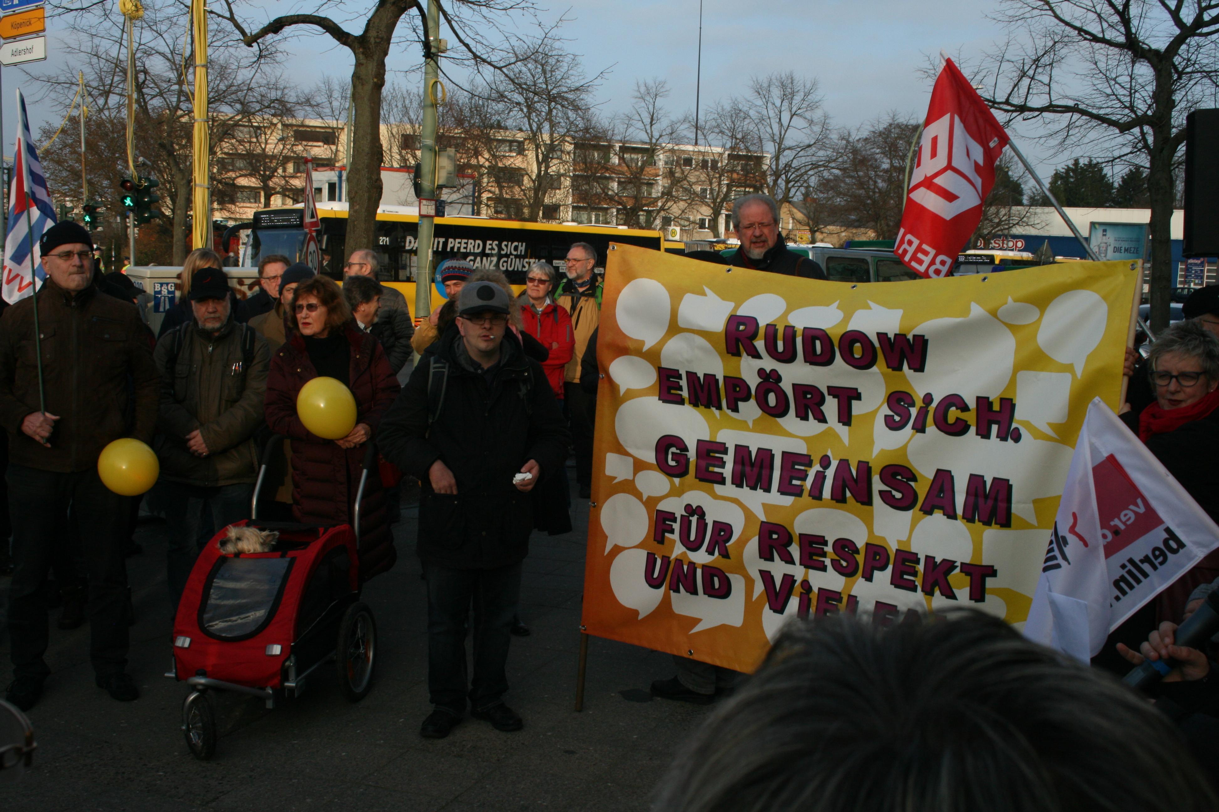 Rudow gegen Rassismus 3