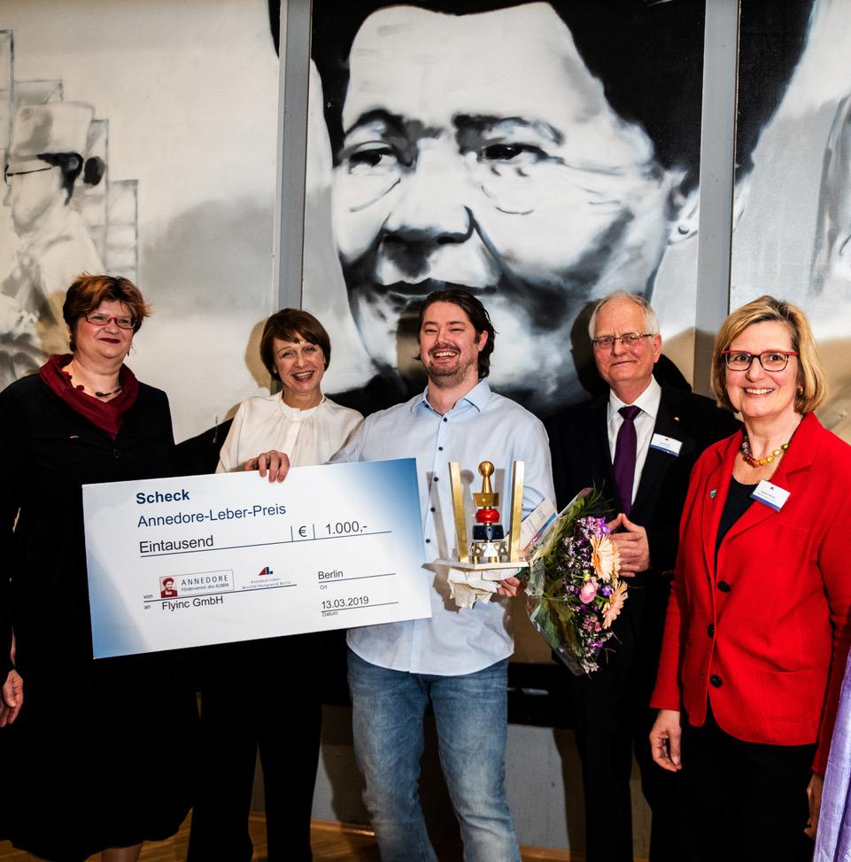 40 Jahre Annedore-Leber-Bildungswerk – Annedore- Leber- Preis verliehen 1