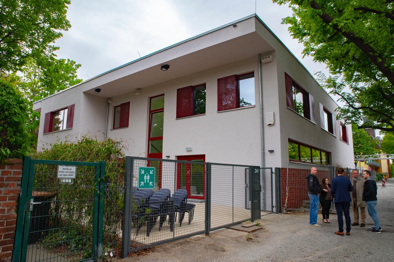 Kinderclubhaus Dammweg neu gebaut und eröffnet 1