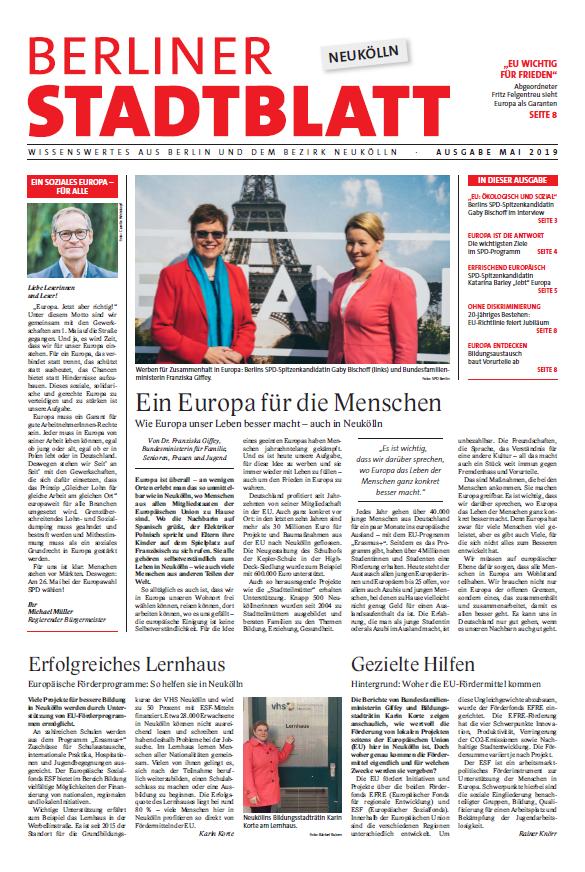 Berliner Stadtblatt für Neukölln 1