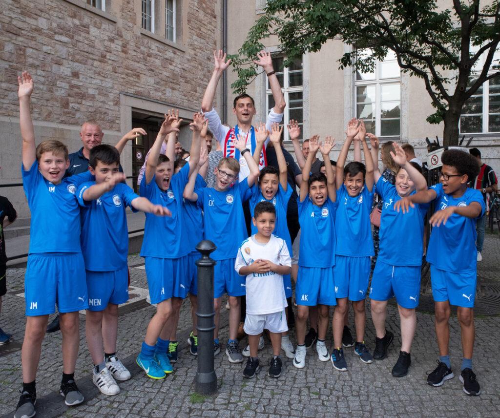 SPD Fraktion Neukölln gratuliert Tasmania Berlin zur Berlin- Meisterschaft! 2