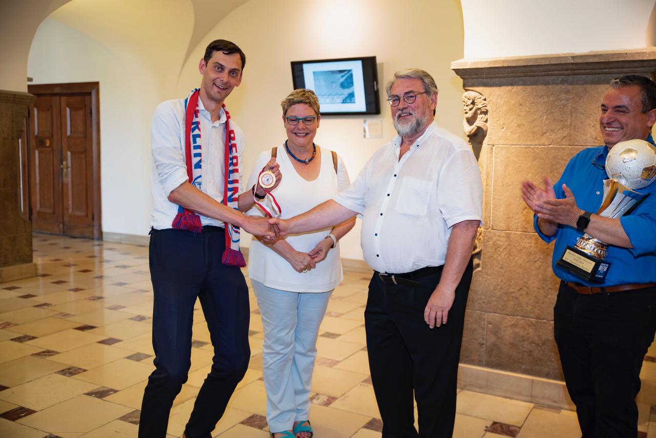 SPD Fraktion Neukölln gratuliert Tasmania Berlin zur Berlin- Meisterschaft! 9
