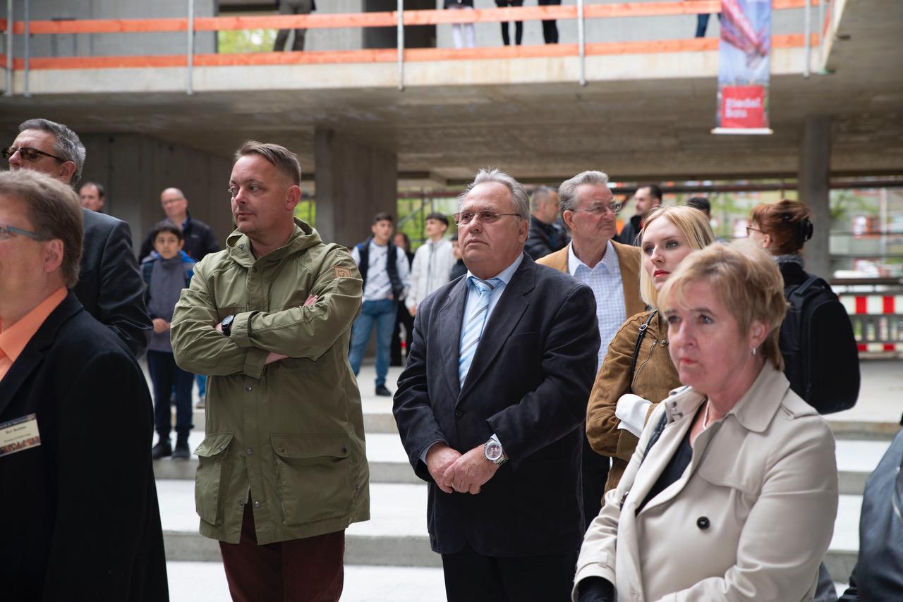 Leonardo-da-Vinci-Gymnasium feiert Richtfest 5
