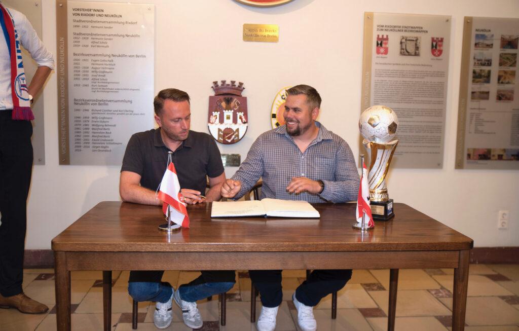 SPD Fraktion Neukölln gratuliert Tasmania Berlin zur Berlin- Meisterschaft! 4