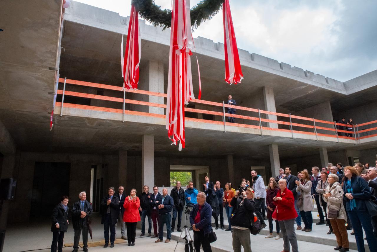 Leonardo-da-Vinci-Gymnasium feiert Richtfest 6