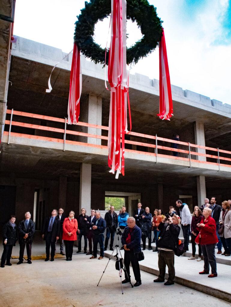 Leonardo-da-Vinci-Gymnasium feiert Richtfest 9