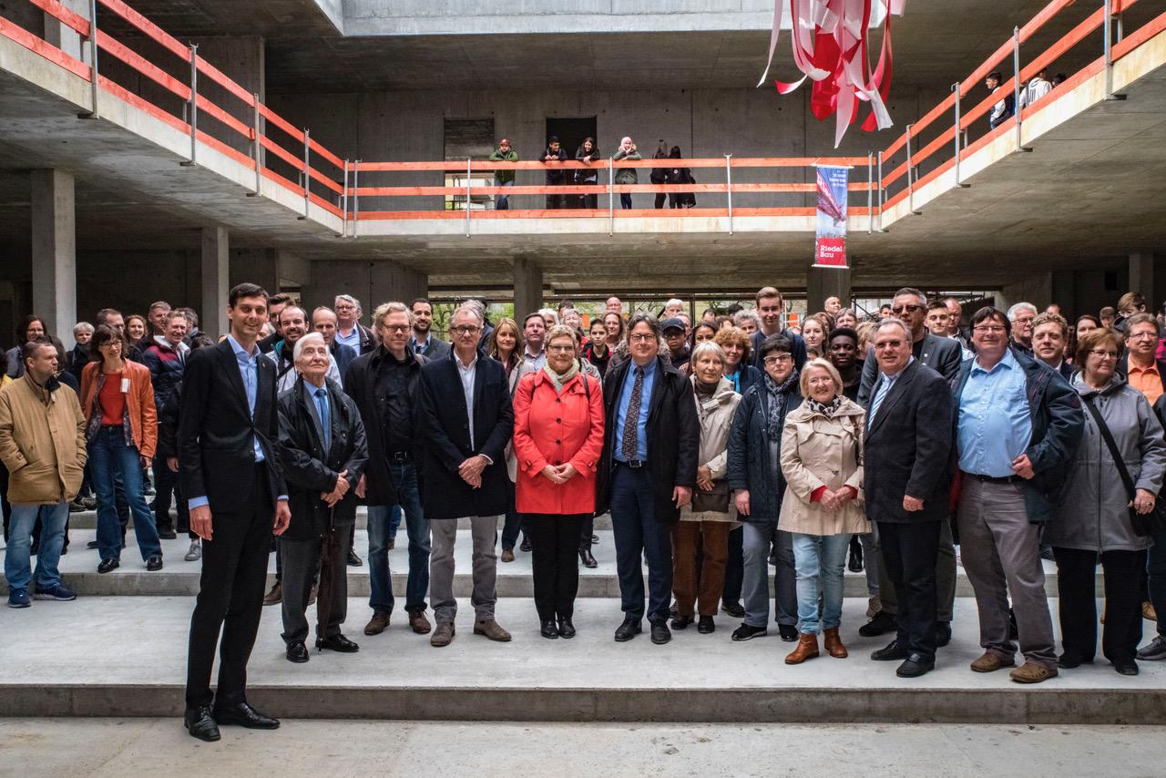 Leonardo-da-Vinci-Gymnasium feiert Richtfest 1