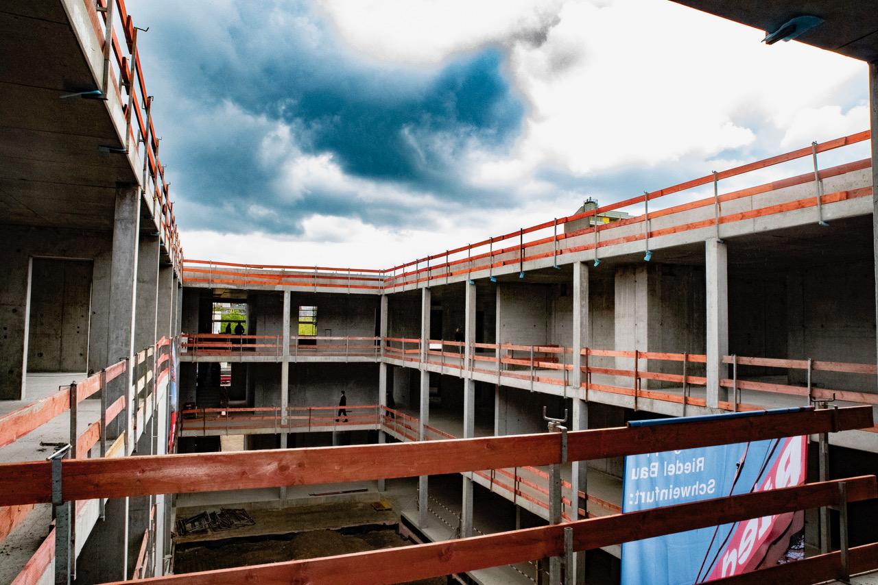 Leonardo-da-Vinci-Gymnasium feiert Richtfest 11