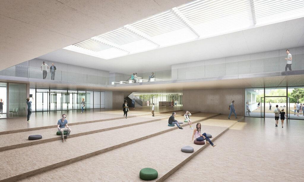 Leonardo-da-Vinci-Gymnasium feiert Richtfest 3