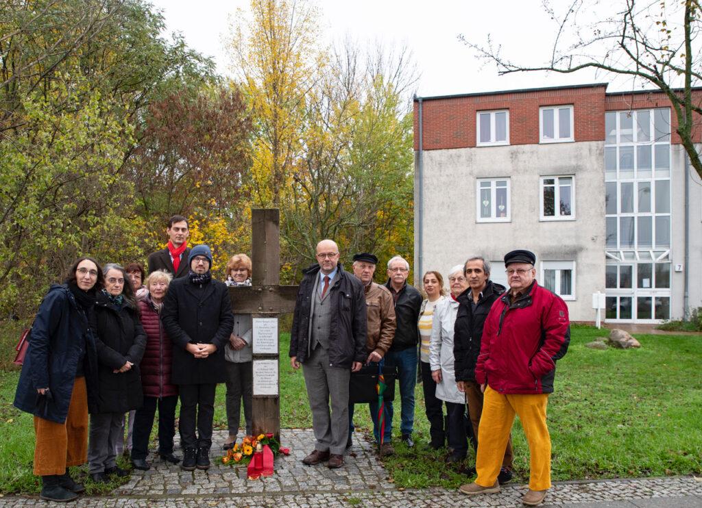 Gedenken der Toten der einstigen innerdeutschen Grenze 1