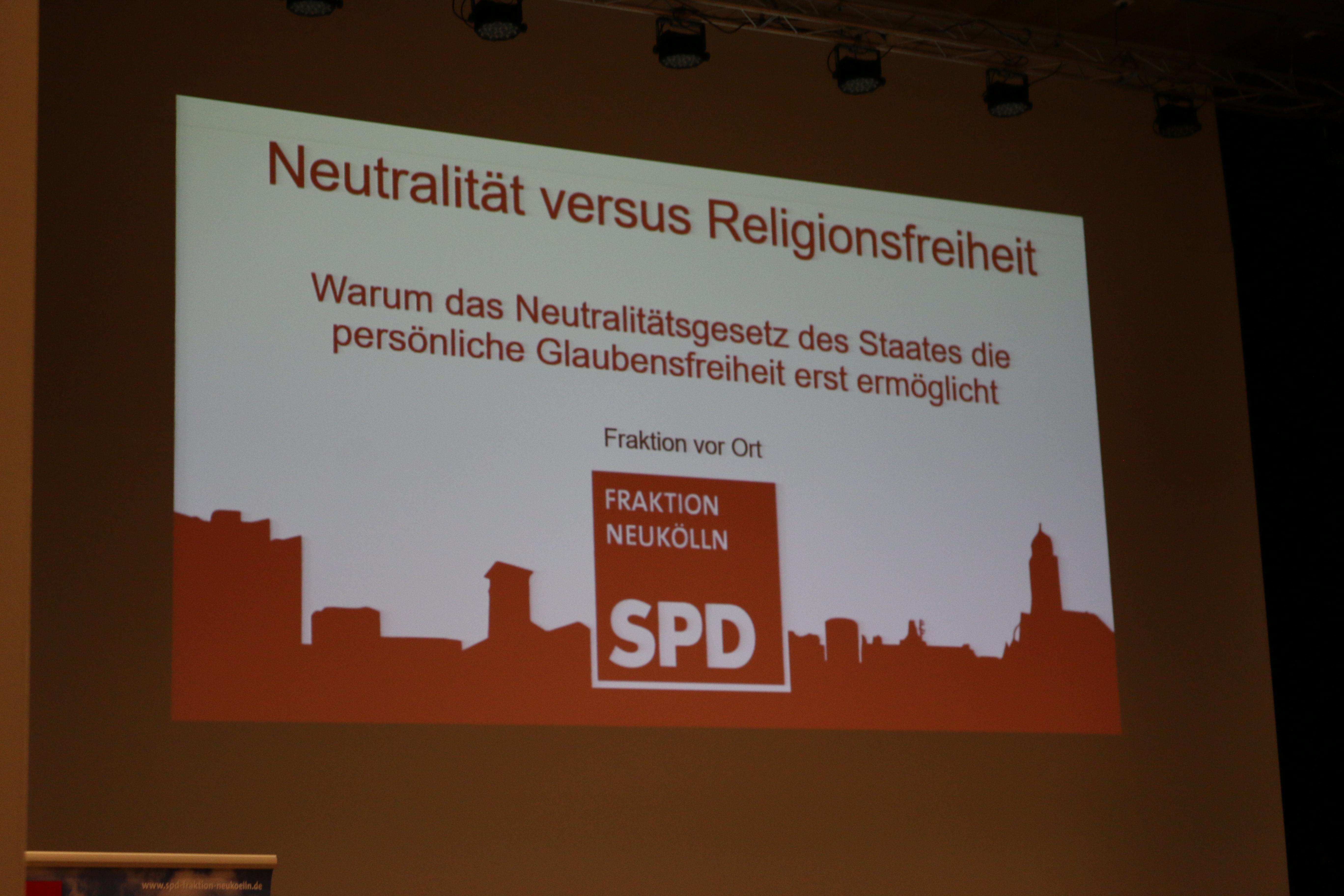 Neutralität versus Religionsfreiheit? - Wieso das Neutralitätsgesetz des Staates die Glaubensfreiheit erst ermöglicht 3