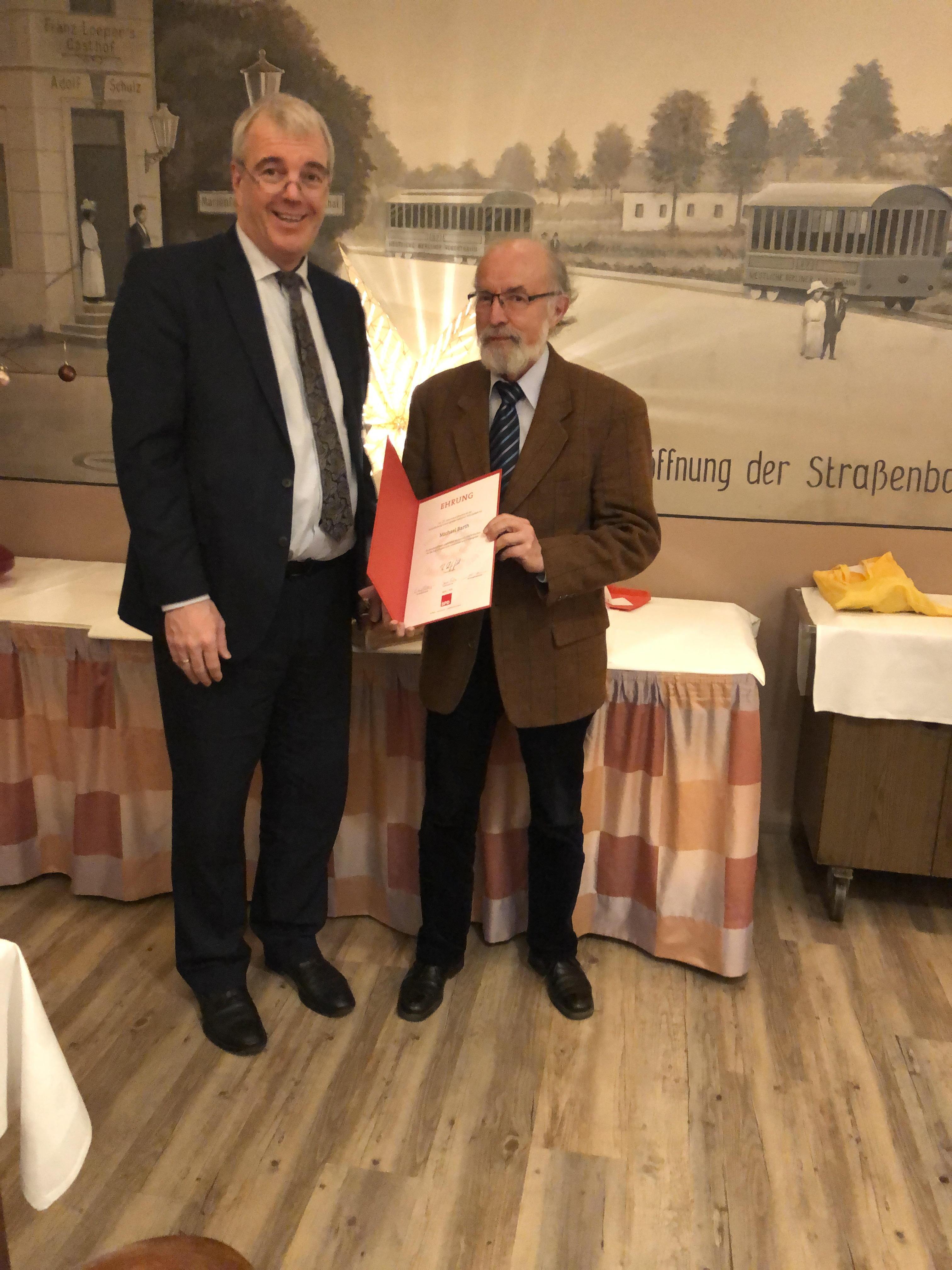 SPD Buckow ehrt langjährige Mitglieder 3