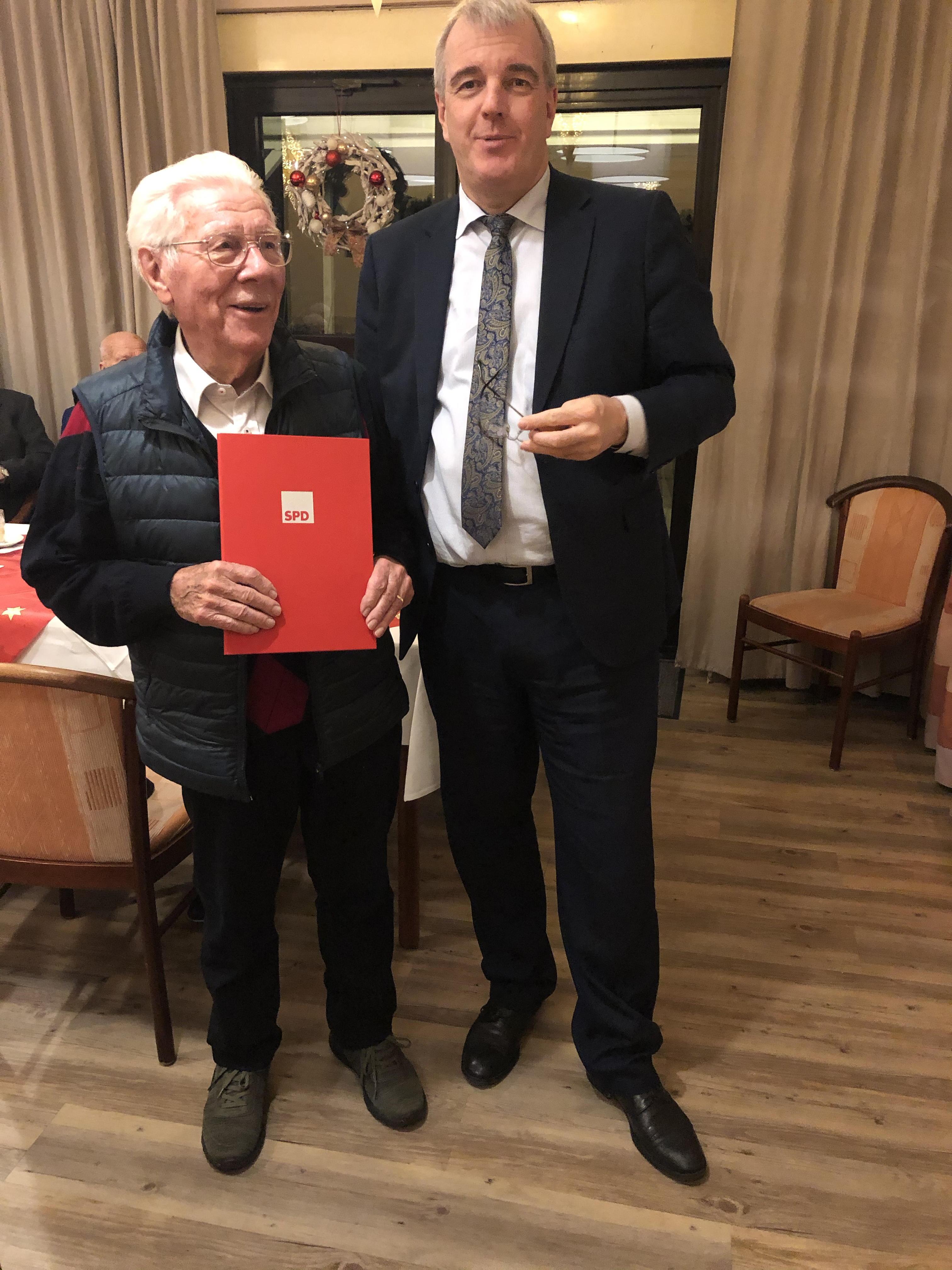 SPD Buckow ehrt langjährige Mitglieder 2