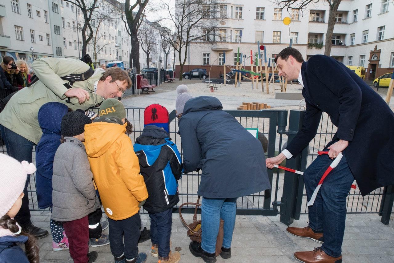 Neuer Spielplatz für die Kinder rund um die Geygerstraße 2