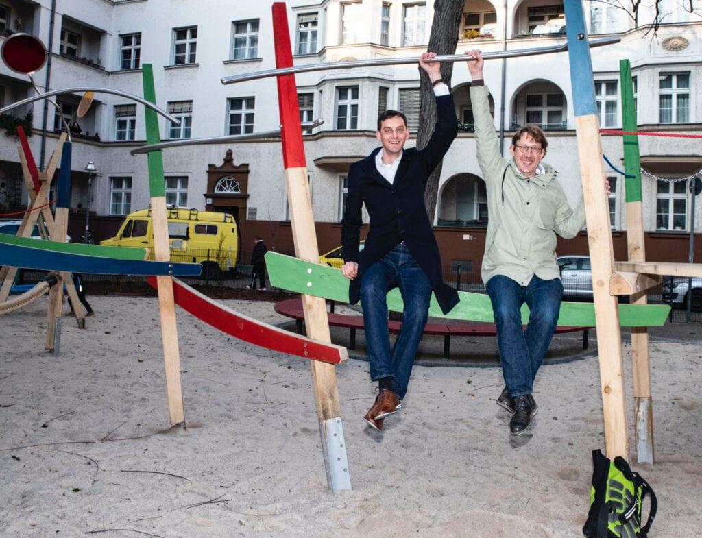 Neuer Spielplatz für die Kinder rund um die Geygerstraße 1