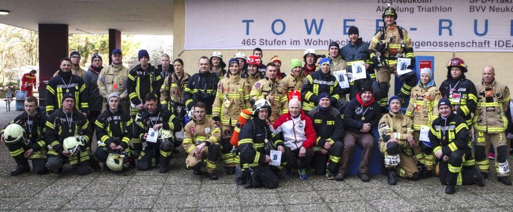 Jubiläum: Der 20. Tower-Run im IDEAL-Hochhaus in der Gropiusstadt 31