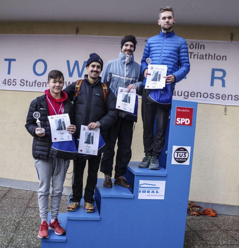Jubiläum: Der 20. Tower-Run im IDEAL-Hochhaus in der Gropiusstadt 27