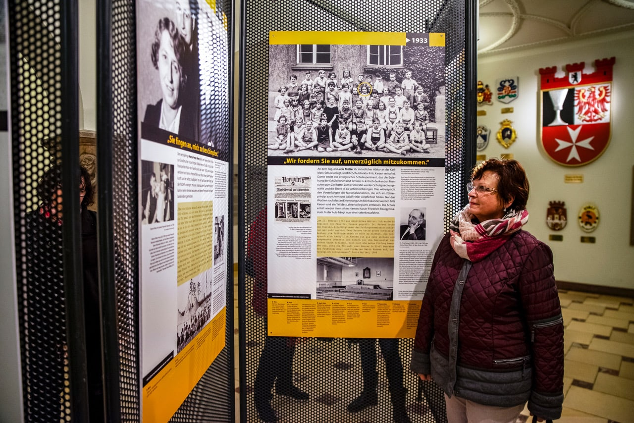 Gedenken an die Befreiung von Auschwitz im Rathaus Neukölln 3