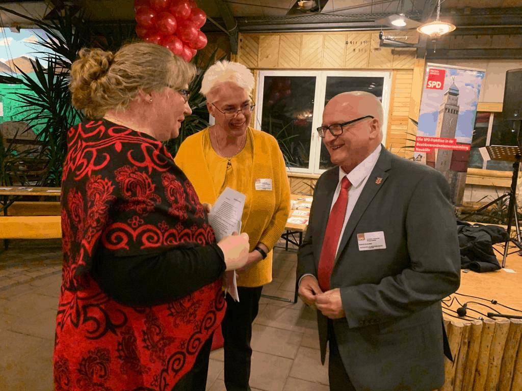 Hunderte Gäste folgten der Einladung zum Jahresempfang der Neuköllner SPD- Fraktion 3